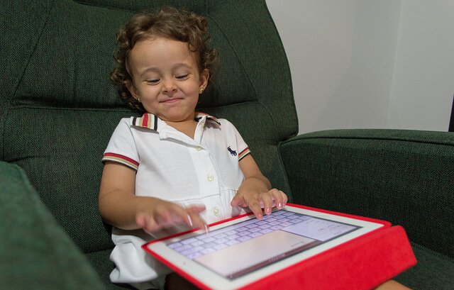 Tablet use of early childhood education