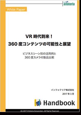VR時代到来!360度コンテンツの可能性と展望